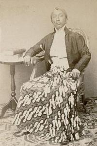 De regent van Magelang, vermoedelijk Raden Toemenggoeng Danoeningrat